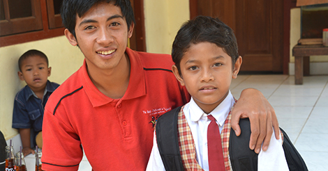 School sponsorship can change lives.