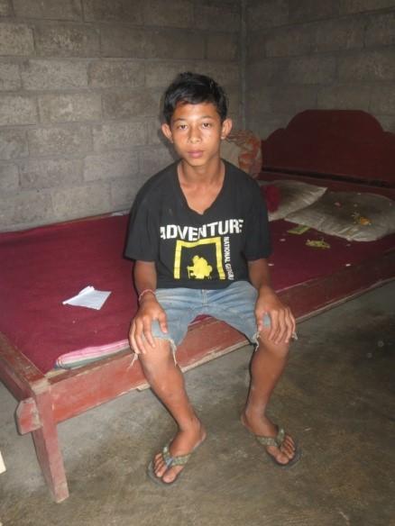 I Nengah Widiana from Bangli, east Bali
