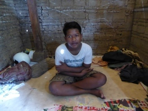I Komang Astrawan from Bongkasa, central Bali